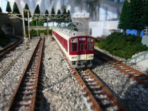 しらない温泉駅付近と近鉄9000系その8