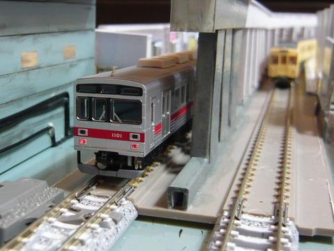 飢乃町駅と東急1000系と東武2000系その6