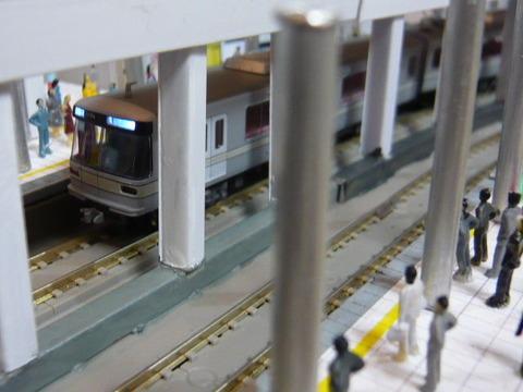飢乃町駅と東京メトロ03系その2