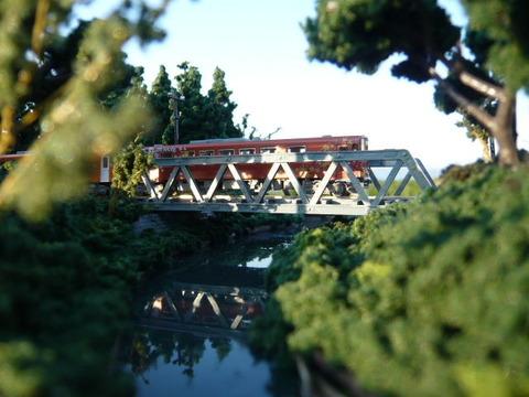 やたら木線ポニートラス鉄橋とAN8800形その1