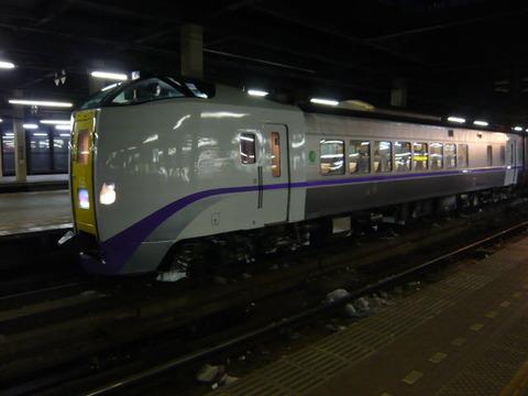 2017年1月撮影、札幌駅にてキハ261系1000その3