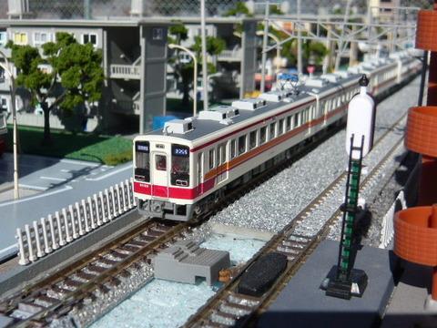 複線ボード(18')と区間快速47列車その2
