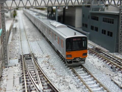 北秋日部駅(R)と東武50050系その1