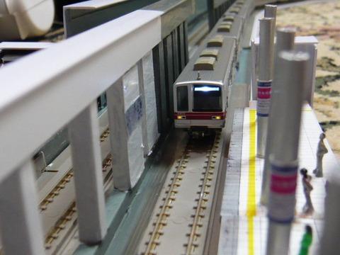 飢乃町駅と東武20070系その6