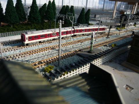 しらない温泉駅付近と近鉄9000系その7