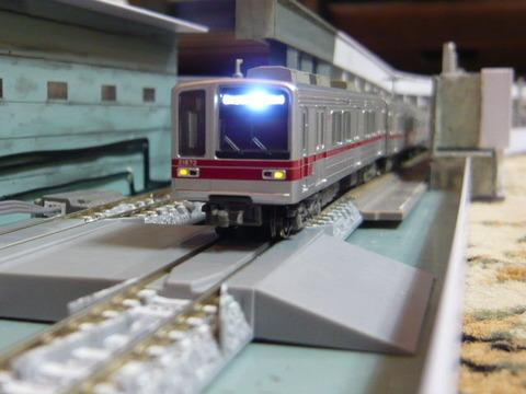 飢乃町駅と東武20070系その1