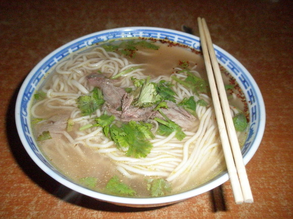 蘭州拉麺(蘭州以外で食されるタイプ)