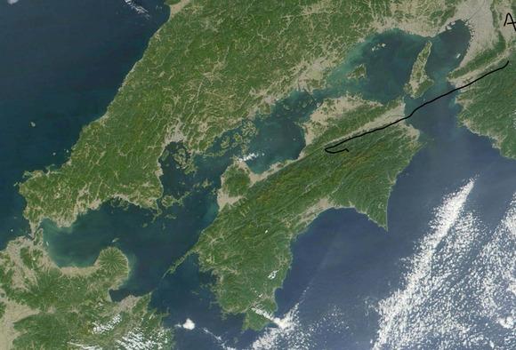 四国航空地図