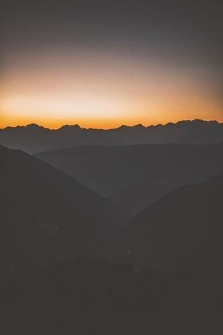 山から見る日の出