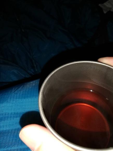 カップのお茶