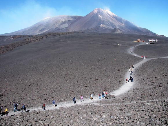 エトナ登山