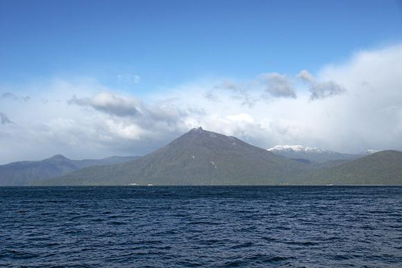 支笏湖と恵庭岳, 北海道千歳市