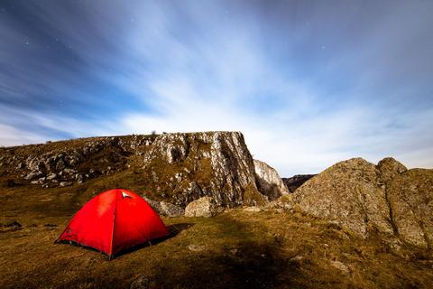 テント泊登山もしくは自転車旅行、バックパッカーきなさい