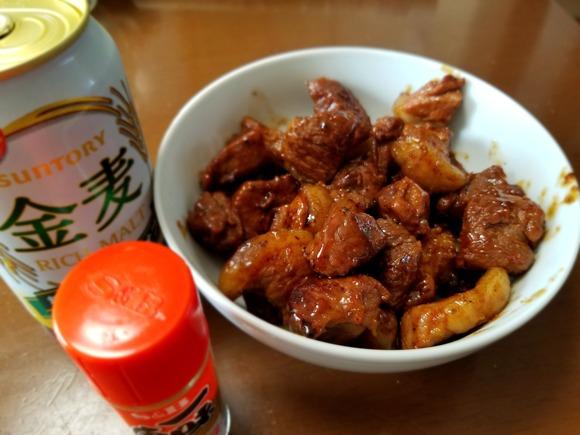 イノシシ肉料理