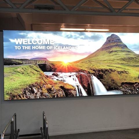 アイスランドの空港
