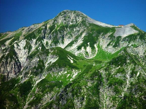 【北アルプス】笠ケ岳で人骨発見。周囲に衣服散乱。岐阜県高山市