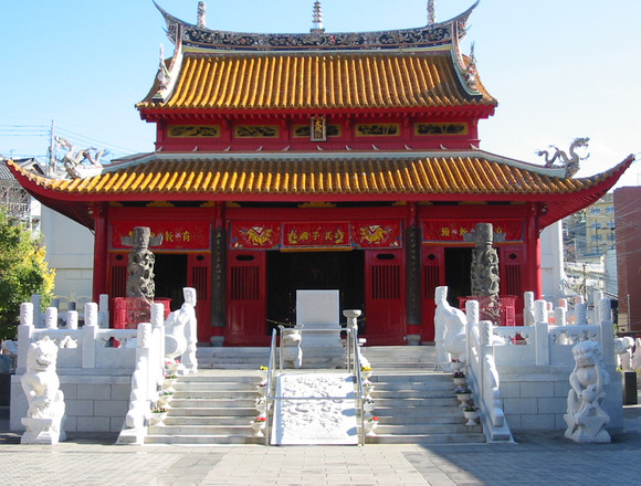 長崎孔子廟大成殿