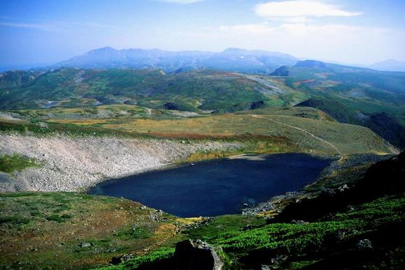 トムラウシ山の北沼