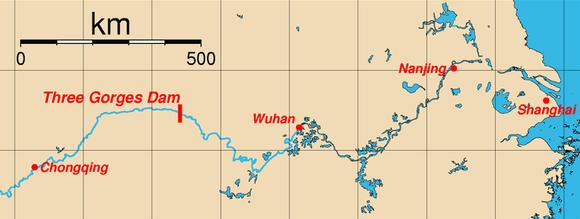 長江と三峡ダム (1)