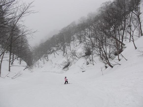 田尻沢滑降コース