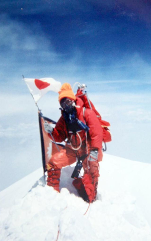 エベレストに登頂を果たした田部井淳子さん
