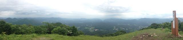 龍頭山山頂からのパノラマ写真