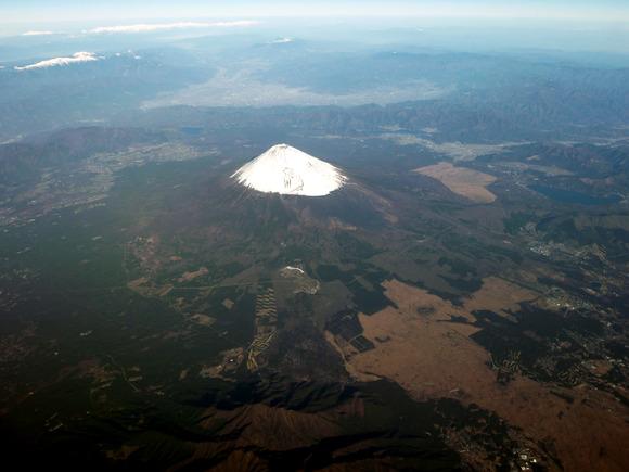 富士山と富士五湖