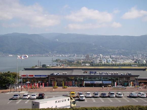 諏訪湖サービスエリア (1)