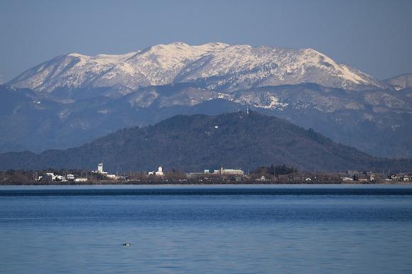 霊仙山と荒神山