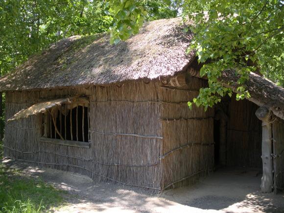 開拓民の小屋