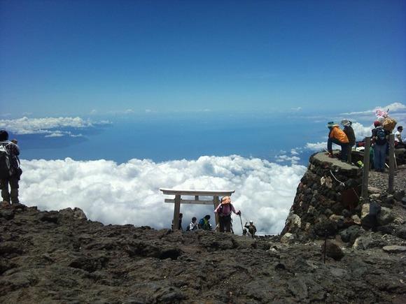 神社脇からの眺望