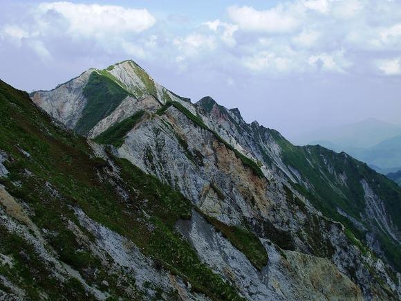 最高峰の剣ヶ峰