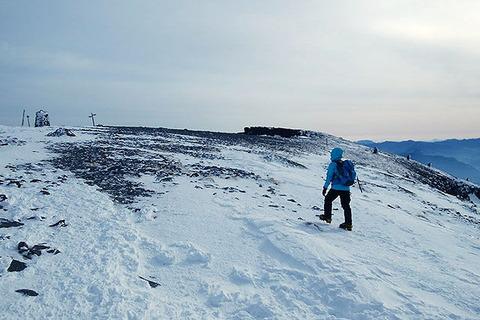 冬山登山者