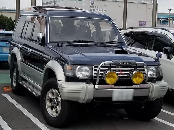 三菱・パジェロ(2代目)