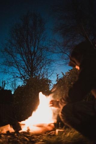 焚き火 (1)