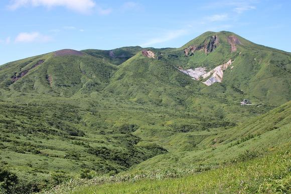 湯森山から見た秋田駒ヶ岳