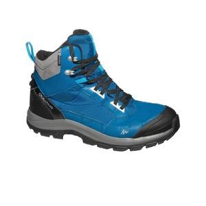 QUECHUA SH520 X-Warm Mid Men's Snow Hiking Boots - Blue.