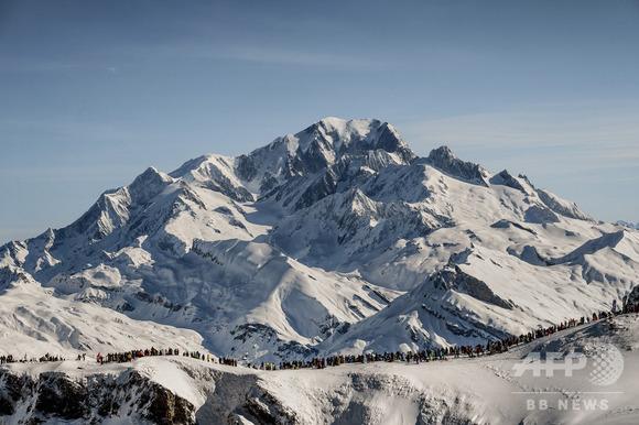 欧州最高峰モンブラン