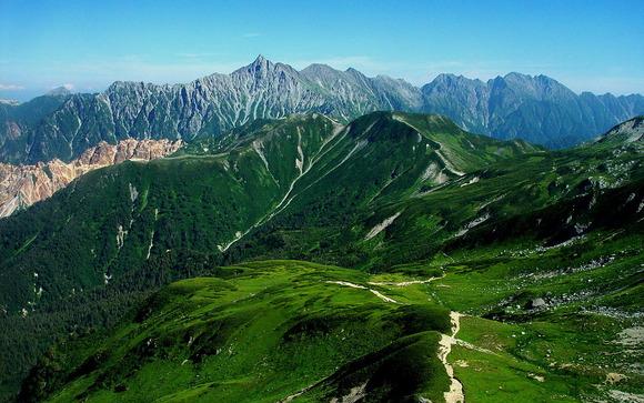 北鎌尾根と穂高岳