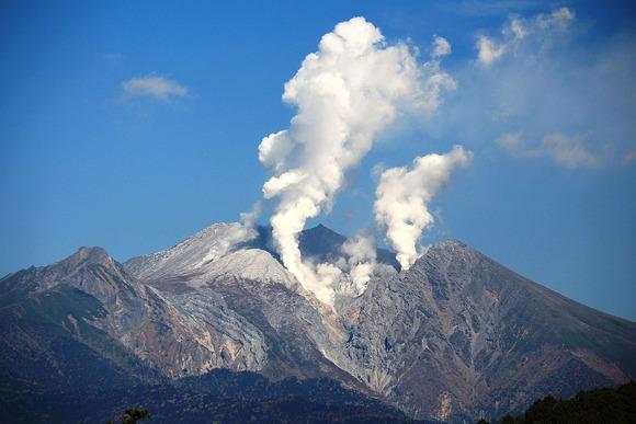 2014年の御嶽山噴火