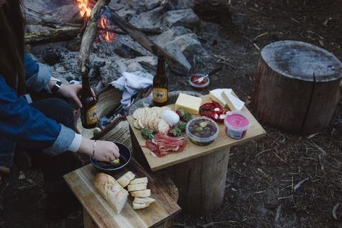 キャンプご飯
