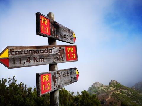 登山道標識