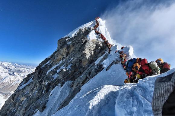 エベレスト渋滞