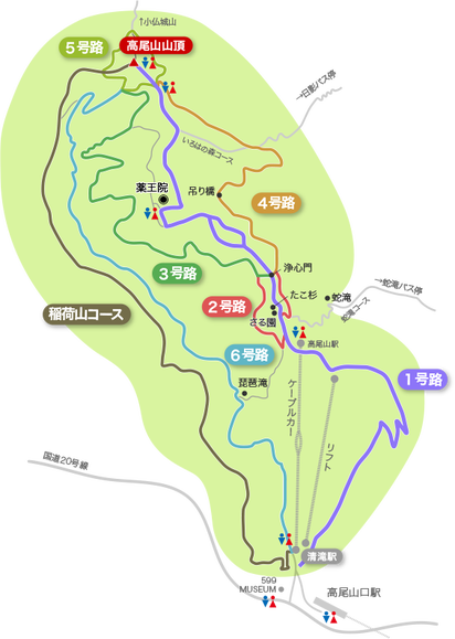高尾山コース