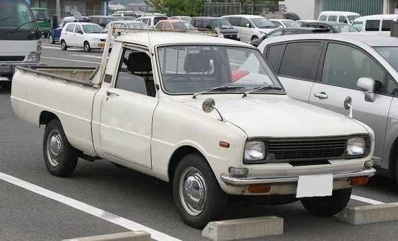 昭和のピックアップトラック