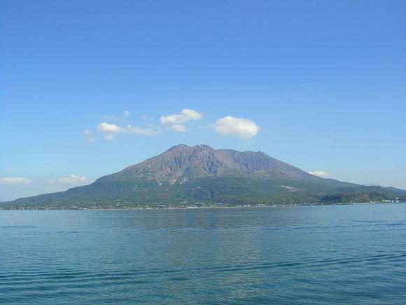 2004年の桜島 (1)