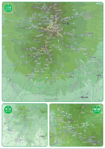 八ヶ岳マップ