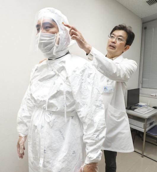 住友病院の林三千雄診療主任部長 (1)