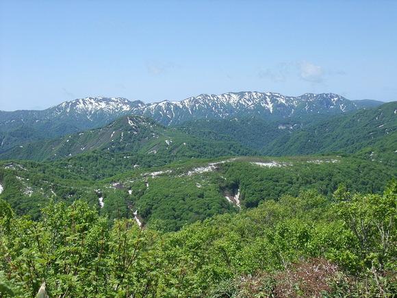 白神山地核心地域