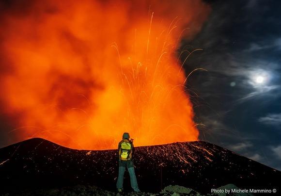 エトナ山噴火